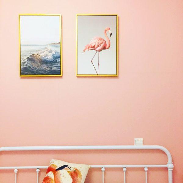 Colgar cuadros directamente en la pared