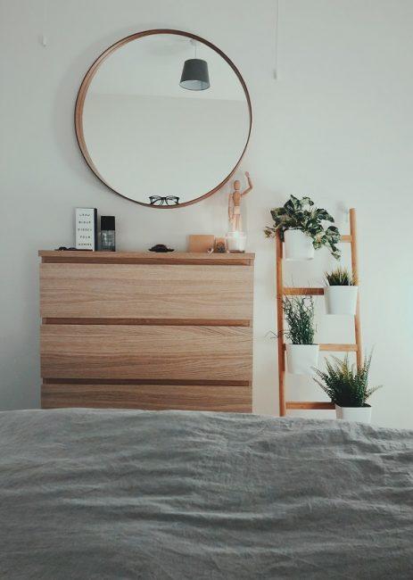 Espejos en habitaciones pequeñas