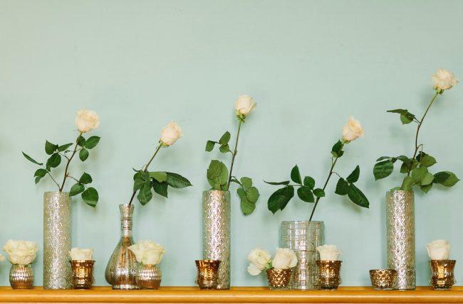 Floreros para decorar