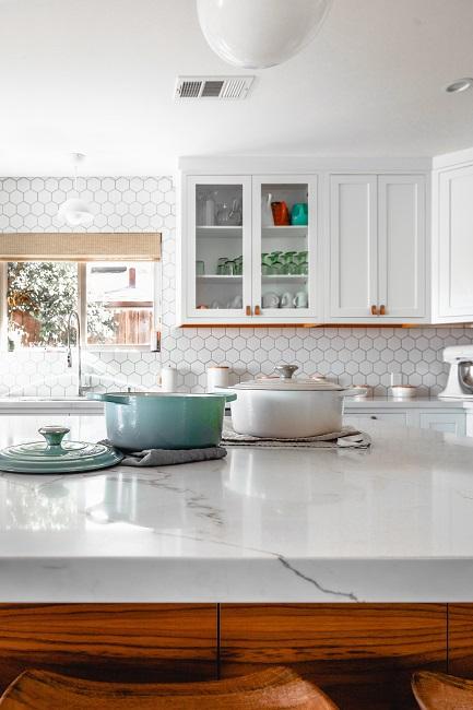 Reformar la cocina con mármol