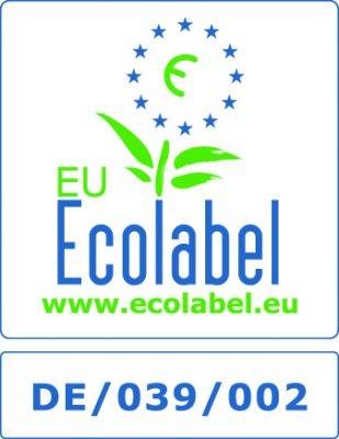 Certificado de lavado ecológico de Ecolabel
