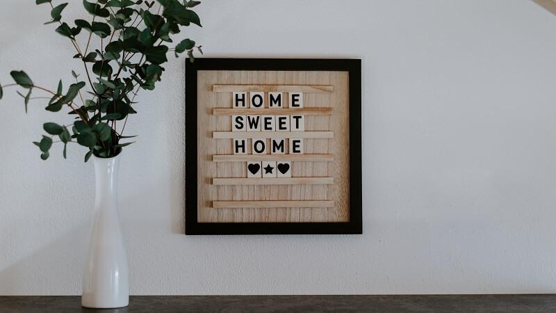 Tipos de carteles para el hogar