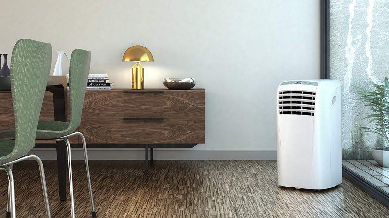 Aire acondicionado portátil y climatizador evaporativo