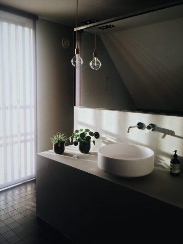 muebles de baño sobrios