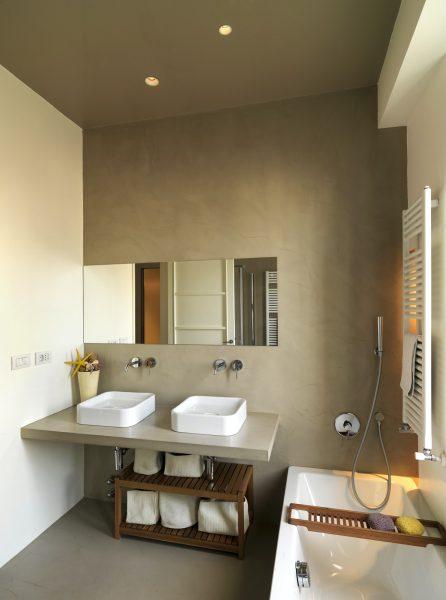 Almacenaje en baños minimalistas