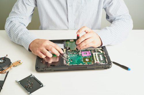 Reparación de portátil