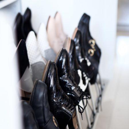 Tipos de organizadores de zapatos