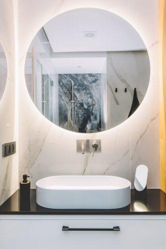 Espejo de baño moderno