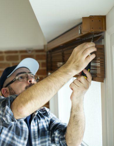 Instalación de ventana de PVC