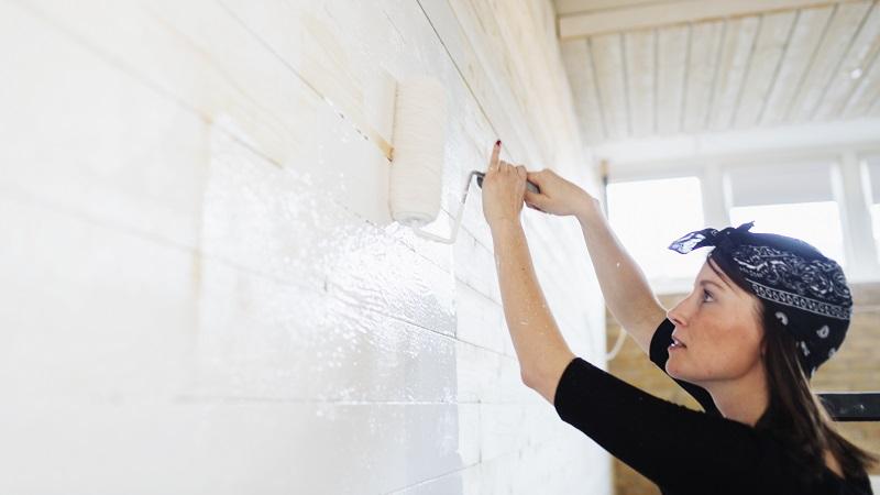 Cómo pintar la casa de forma eficiente