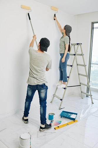 Mejor forma de pintar la pared