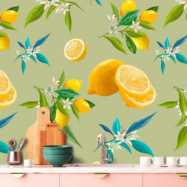 papel pintado para cocina