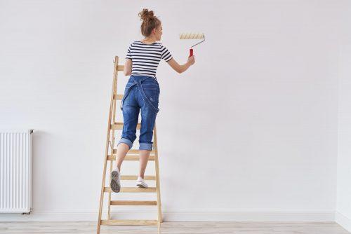 Pintar la casa de la mejor manera